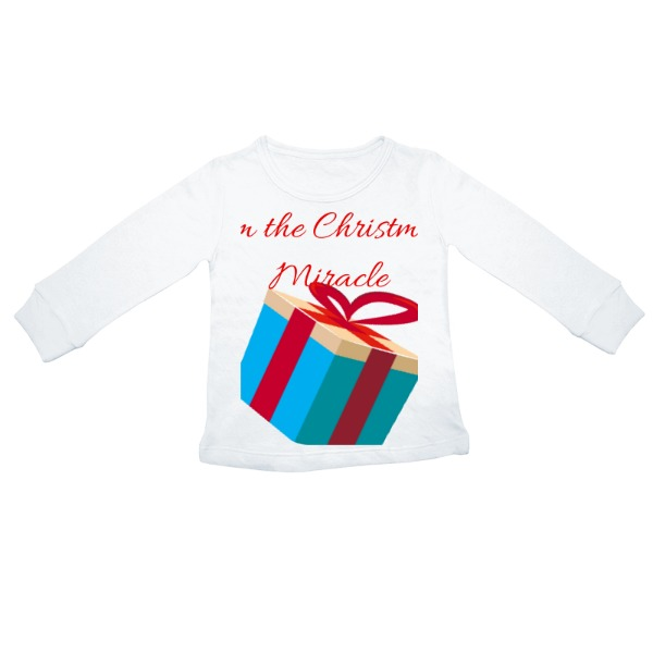 Christmas Miracle - Toddler Solar Long Sleeve