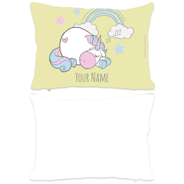 Sleepy Unicorn Personalised Cushion