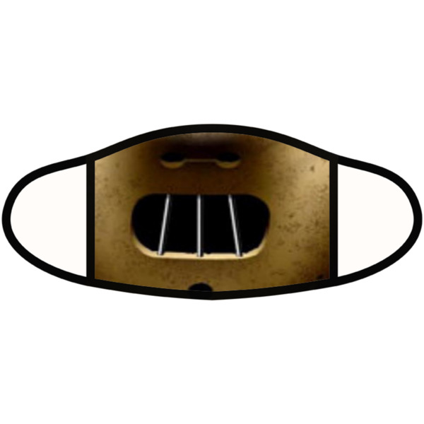 Hannibal Lecter Face Mask - Face Mask- Small