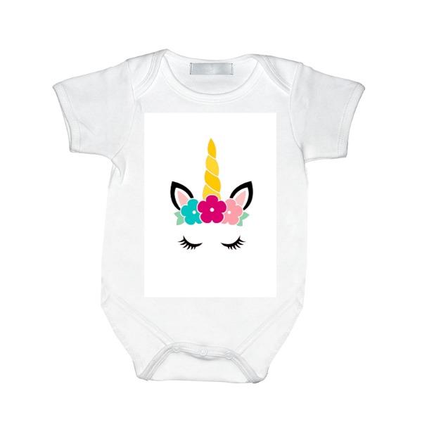 body unicorn - Baby One Piece