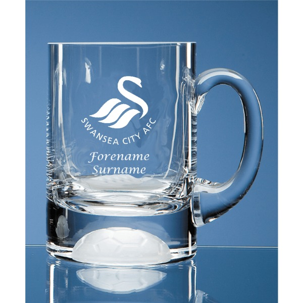Swansea City AFC Personalised Crest Ball Base Tankard