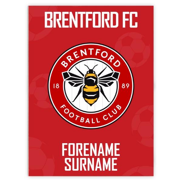 Brentford FC Crest Blanket (150cm x 110cm)