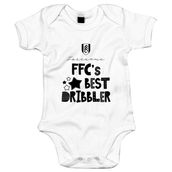 Fulham FC Best Dribbler Baby Bodysuit