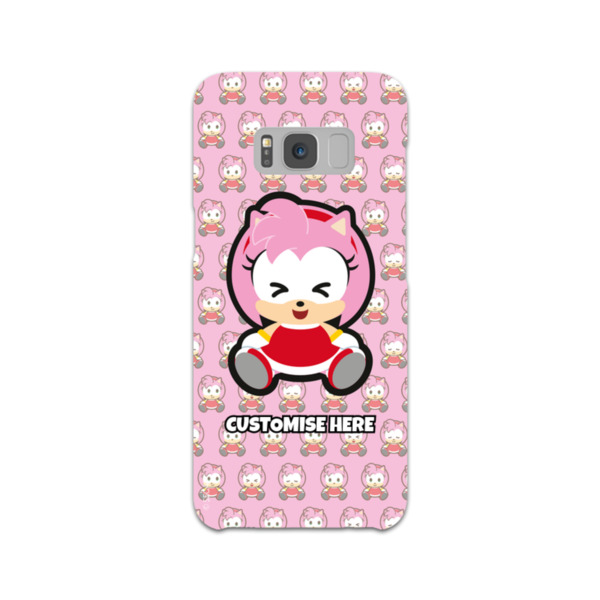 Samsung Galaxy S8 Phone Case - Amy Emoji - Modern Sonic