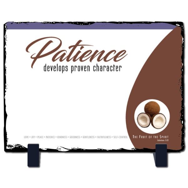 Patience Slate Panel - Slate Photo Panel Stone Rectangle