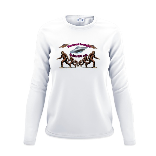 Ladies Solar Long Sleeve Small Print Area