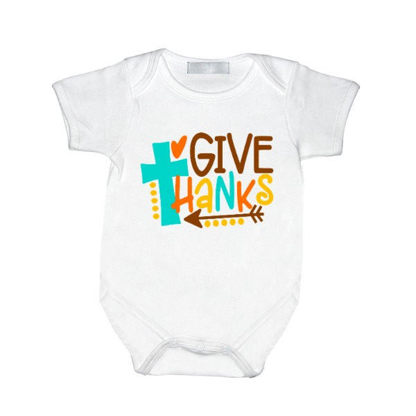 Give Thanks - Baby One Piece