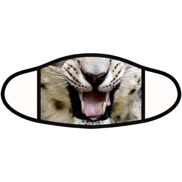 Leopard mask - Face Mask- Small