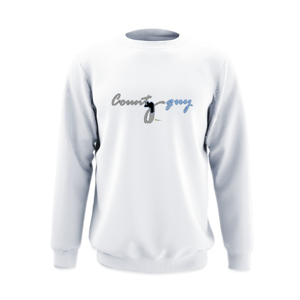 County guy - Crew Sweatshirt Small Print Area
