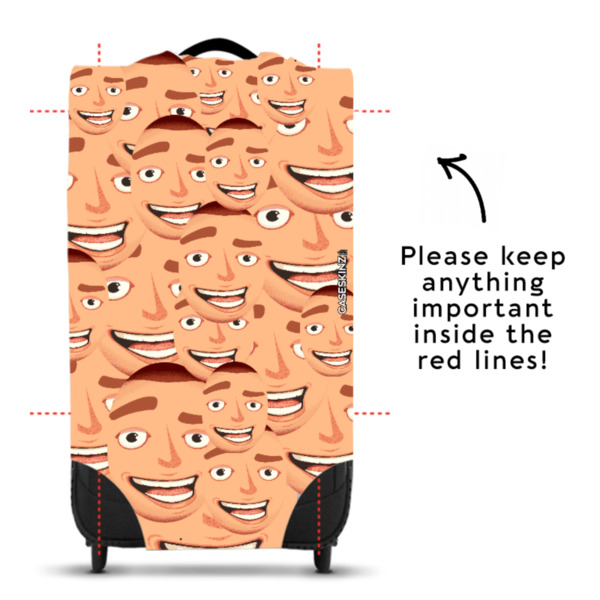 Faces All Over - Caseskin - S