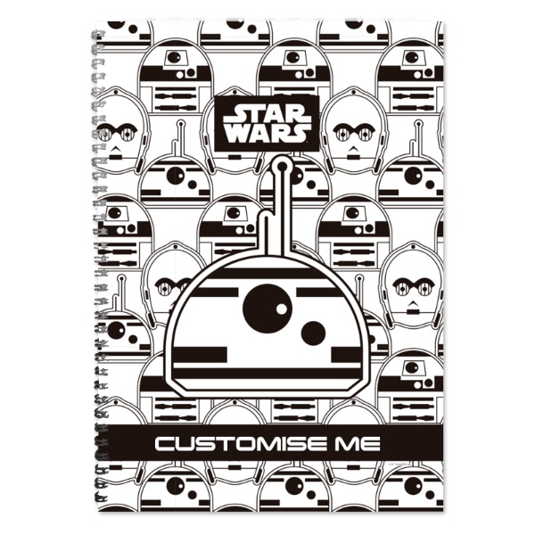 Star Wars BB8 Icon A4 Notebook