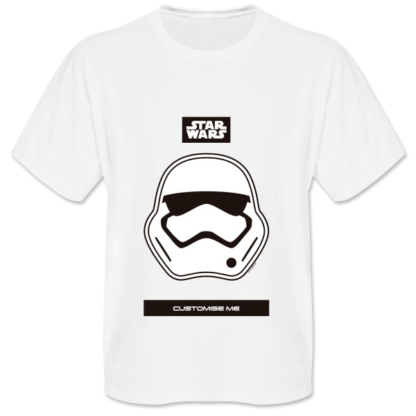 Star Wars Storm Trooper Icon Mens T-shirt