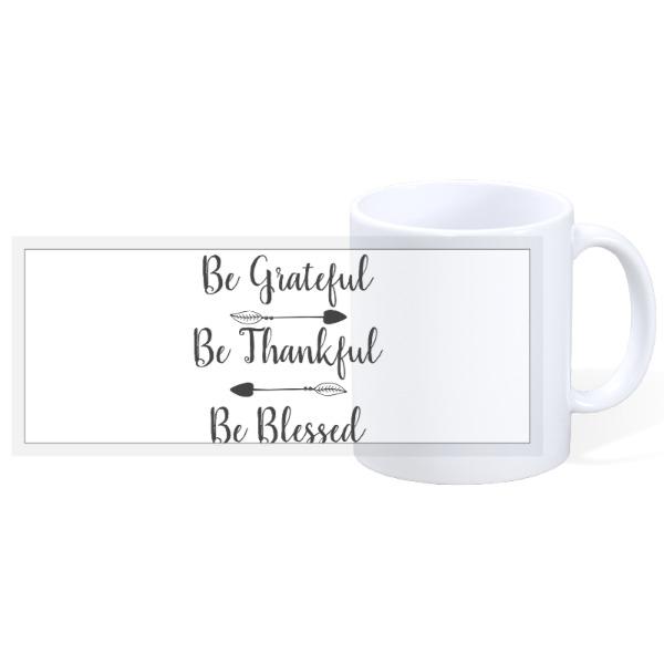 Grateful - 11oz Ceramic Mug