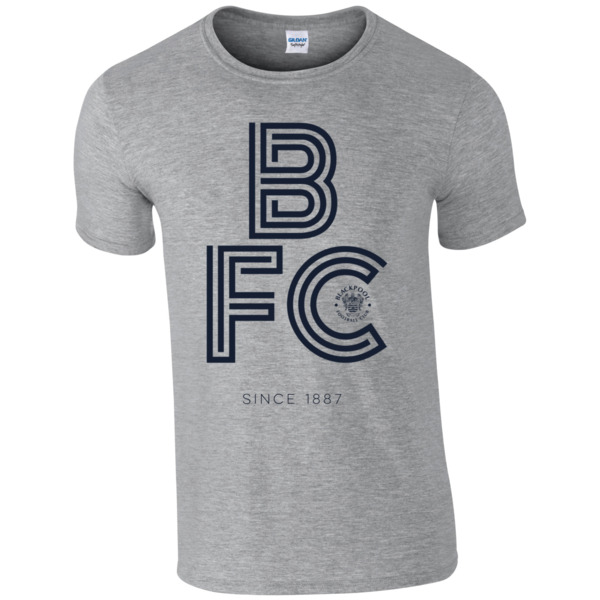 Blackpool FC Stripe T-Shirt
