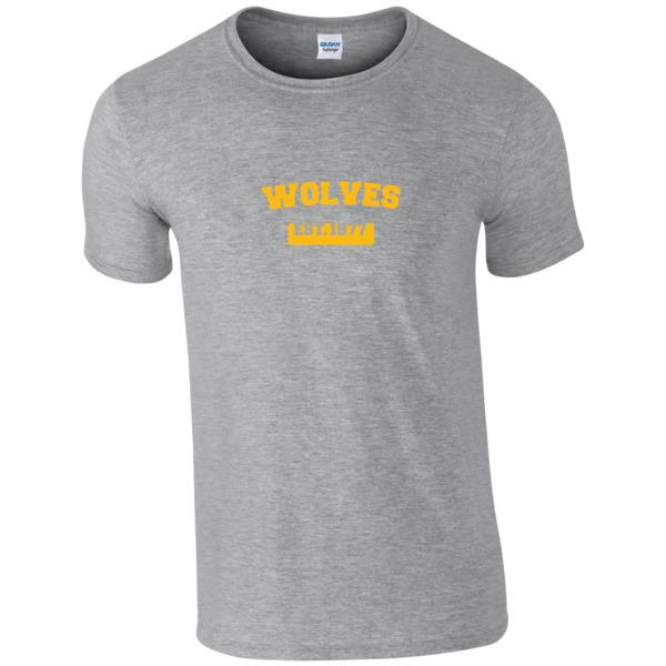 Wolves Varsity Established T-Shirt
