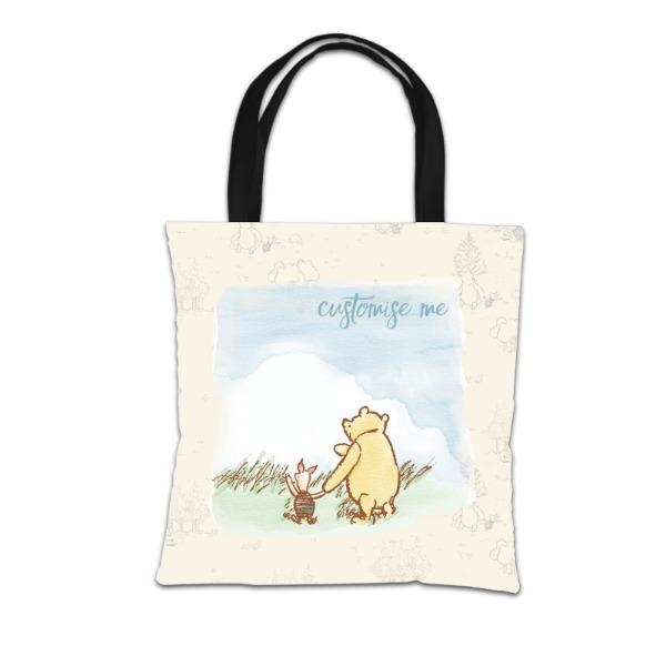Disney Winnie The Pooh and Piglet Tote Bag