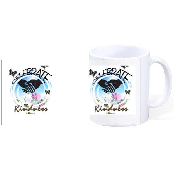 Celebrate Kindness - Mug Ceramic White 11oz