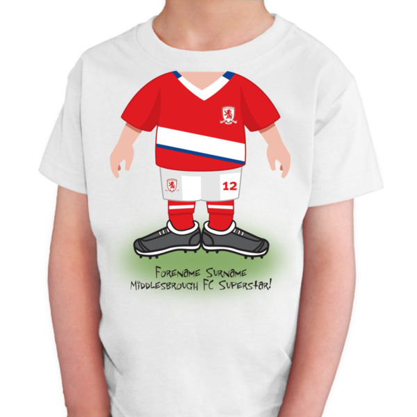 Middlesbrough FC Kids Use Your Head T-Shirt