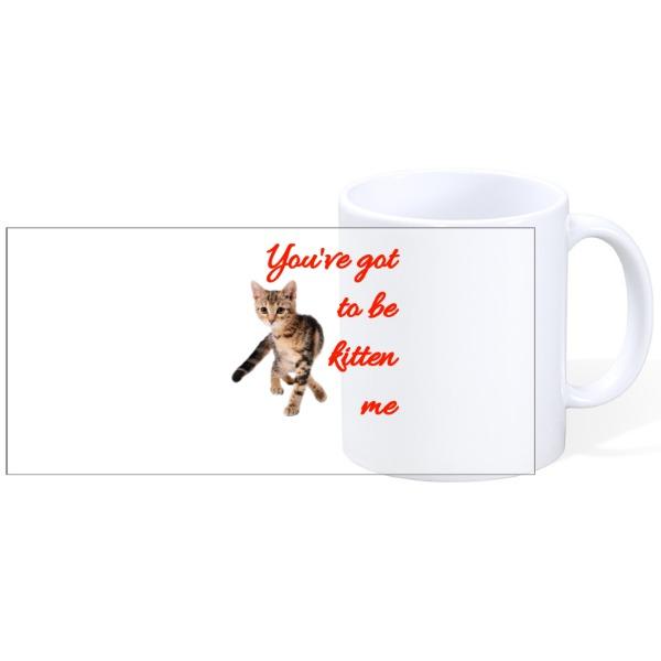 Kitten me - Kitten me - Mug Ceramic White 11oz