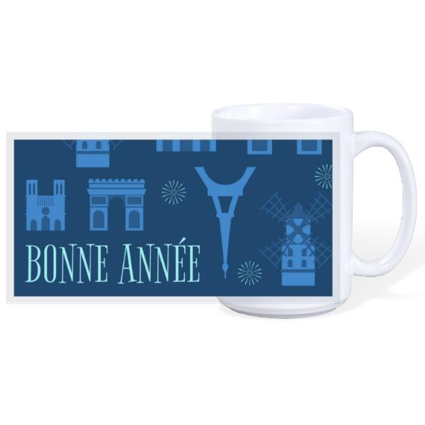 Bonne Année  - 15oz Ceramic Mug