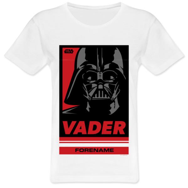 Star Wars Vader Pop Art Womens T-shirt