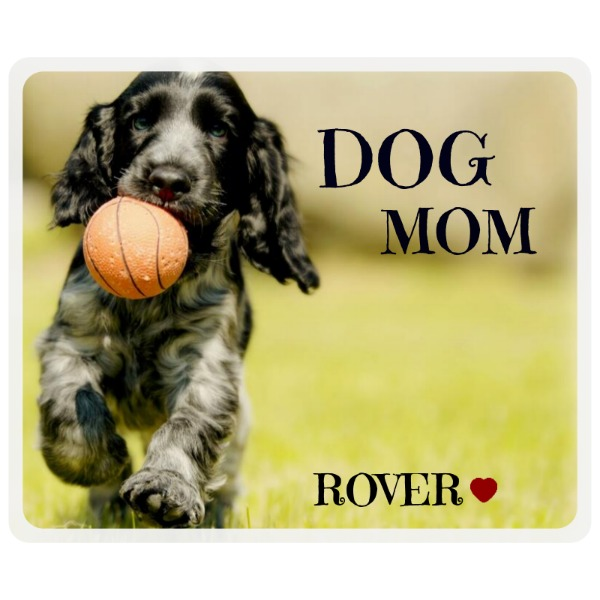 Dog mom mouse pad - Mousepad