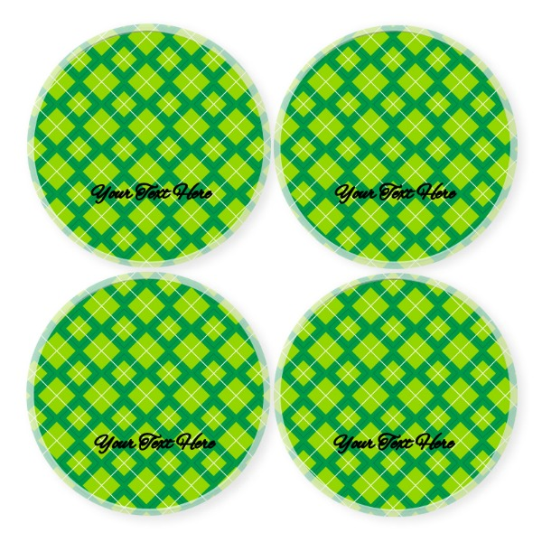 Green Golf - Round Coaster Set