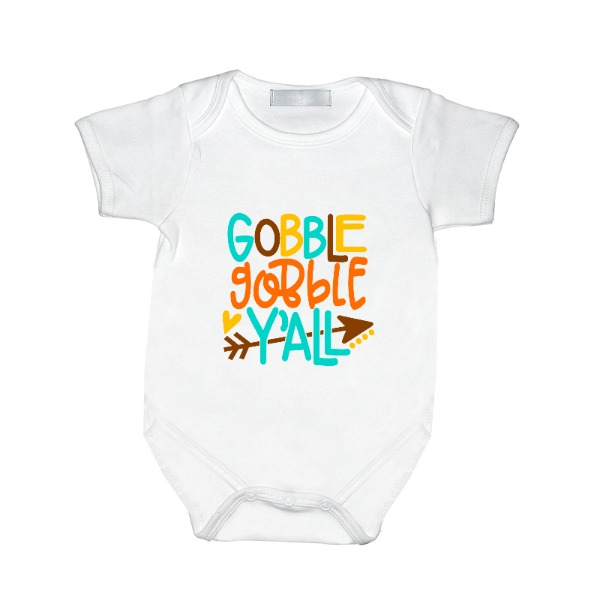 Gobble Y'all - Baby One Piece