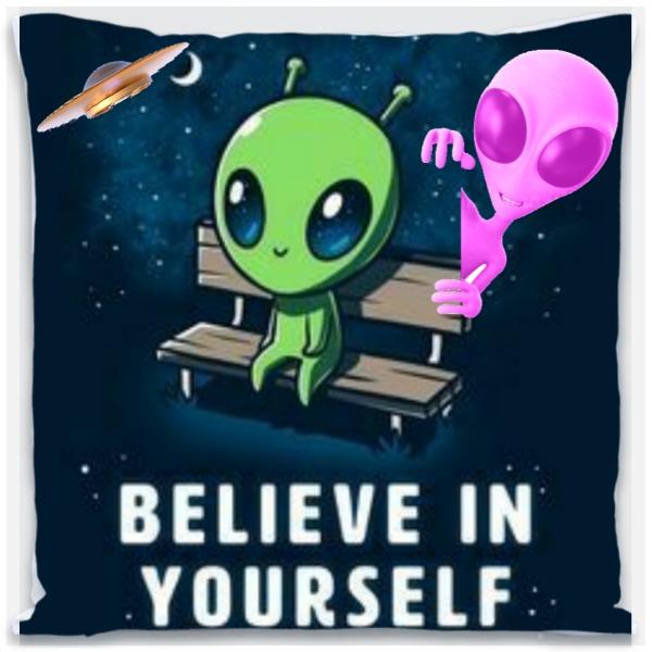Believe pillow - Pillow