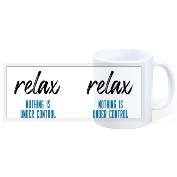 Relax Control Mug - 11oz Ceramic Mug