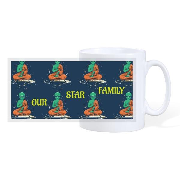 STAR FAMILY - 10oz Ceramic Mug