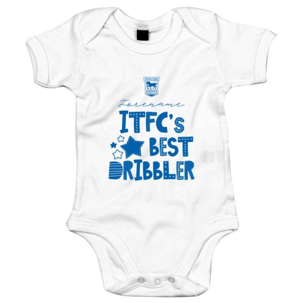 Ipswich Town FC Best Dribbler Baby Bodysuit