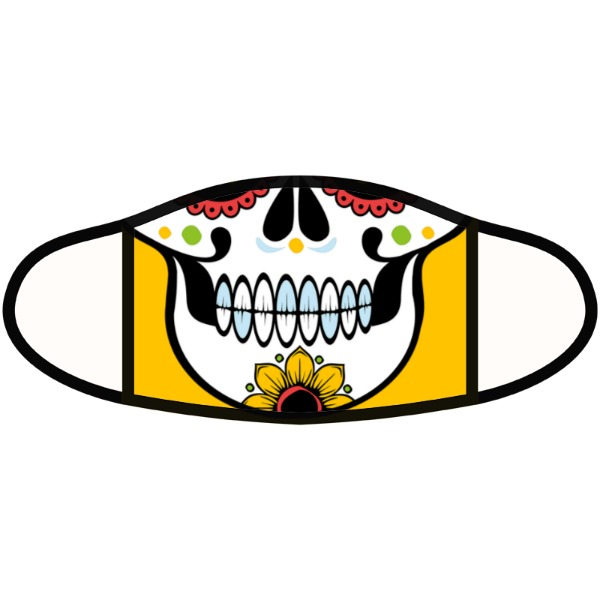 Day of the dead mask - Face Mask- Small