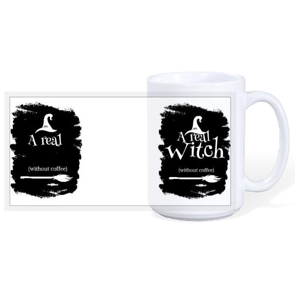 Real Witch - Halloween 15oz Ceramic Mug