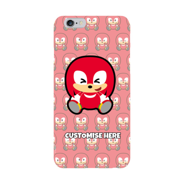 iPhone 6/6S Case - Knuckles Emoji - Modern Sonic
