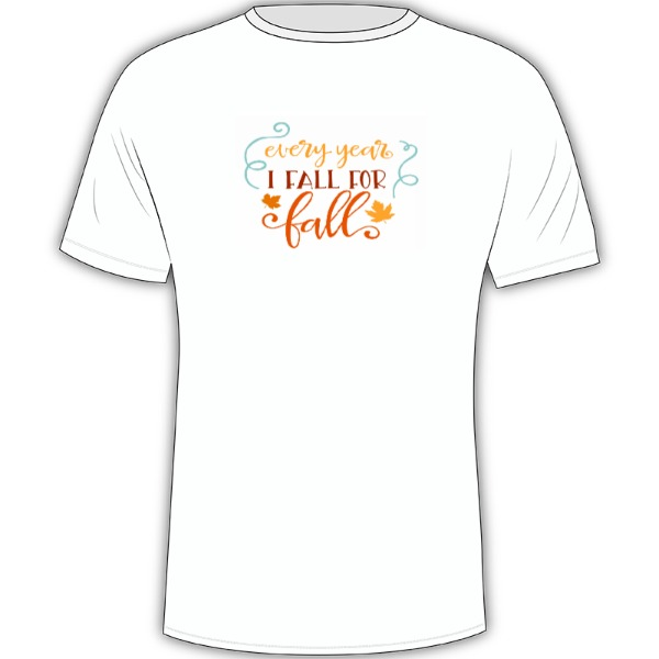 fall - Mens Solar Short Sleeve Small Print Area