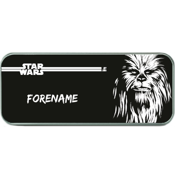 Star Wars Chewbacca Paint Pencil Tin - Silver