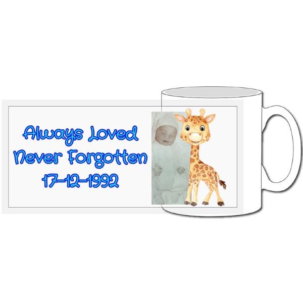 Never Forgotten - 10oz Ceramic Mug