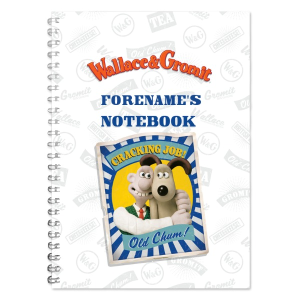Wallace and Gromit Old Chum Notebook