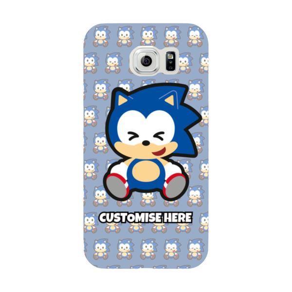 Samsung Galaxy S6 Phone Case - Sonic Emoji - Modern sonic
