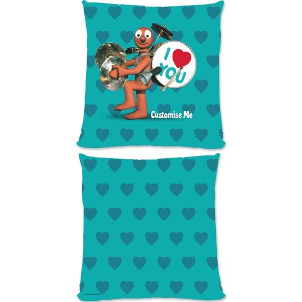 Aardman Morph 'I Love You' Large Fiber Cushion