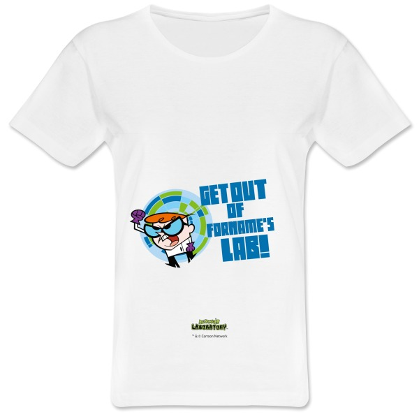 Dexter's Lab Get Out Womens T-shirt