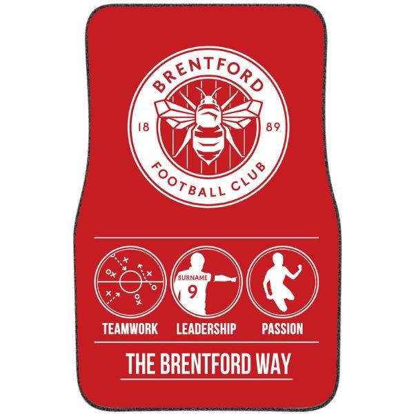 Brentford FC Way Front Car Mat
