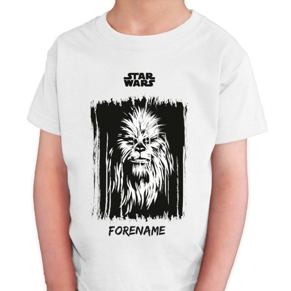 Star Wars Chewbacca Paint Kids T-Shirt