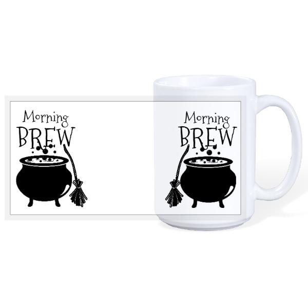 Morning Brew - Halloween 15oz Ceramic Mug