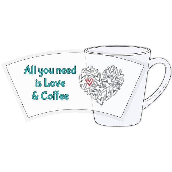 Love & Coffee - Ceramic Latte Mug