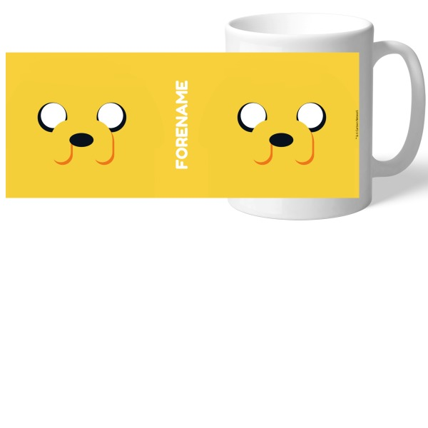 Adventure Time Jake Flat Mug