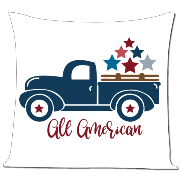 All American Pillow - Pillow Cover Polyester Canvas Square 40cm