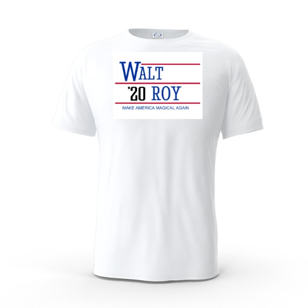 Walt 2020 Shirt - Mens Solar Short Sleeve Small Print Area