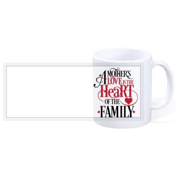 Mother's Heart - 11oz Ceramic Mug